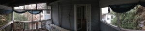 Back Porch Panorama