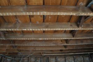 front bedroom ceiling