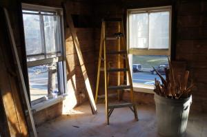 front bedrrom ladder