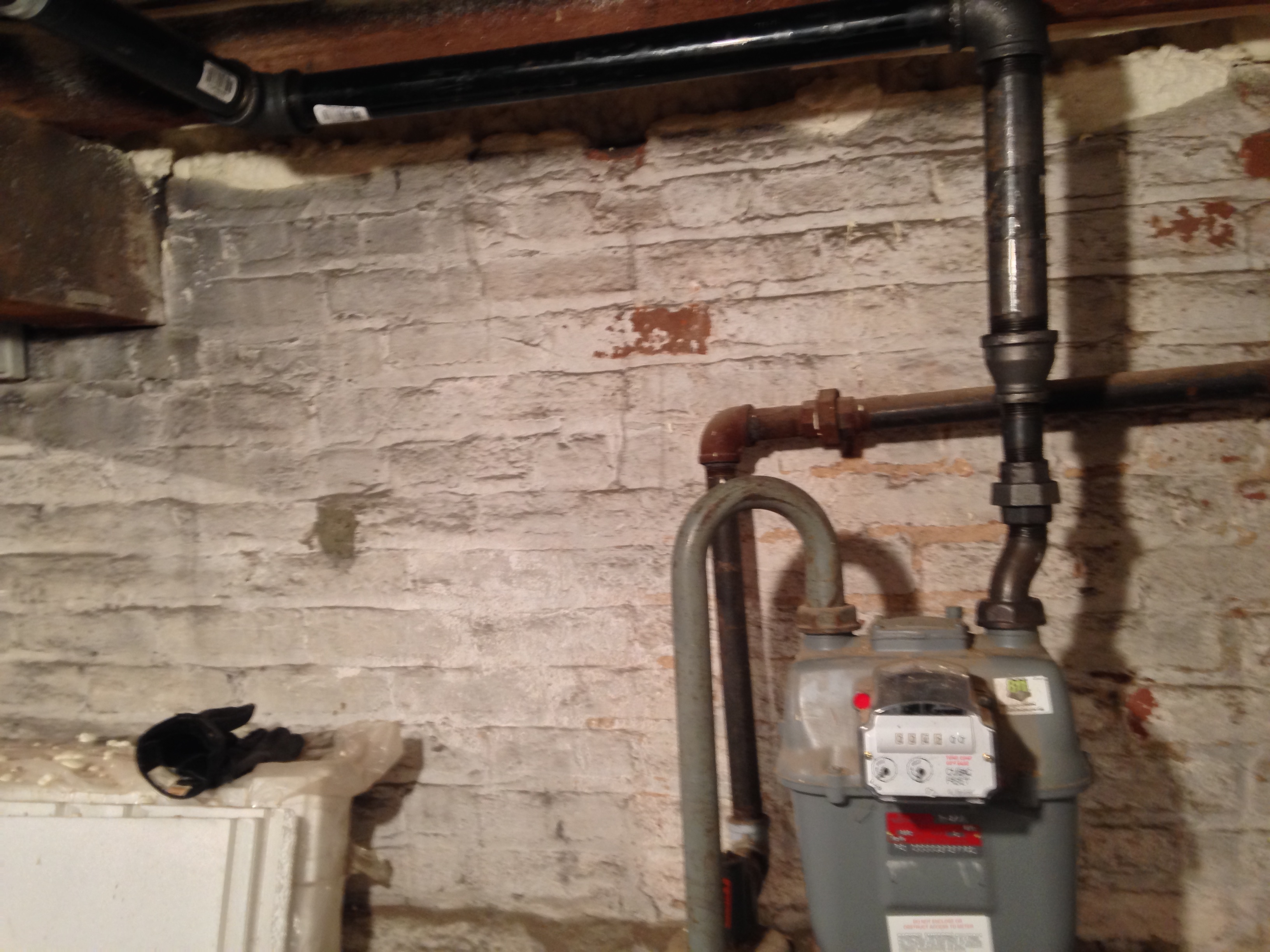 Hvac System And Gas Piping Retrofit Victorian Home